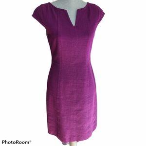 - Talbots Split Neckline Fitted Dress Size 4P